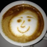 Even the Cappuccino had a smile!