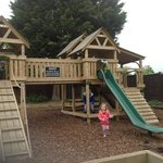 Brand new outdoor play area for the kids.  Big investment