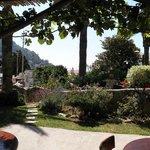 giardino e colazione