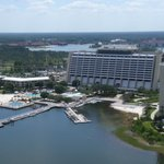 Aerial view of Contemporary Resort