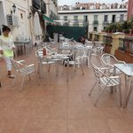 hostel terras - nice and spacious - in the centre of Madrid !!!