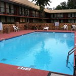 Pool they said was Hazardous & closed @ Days Inn Port Royal