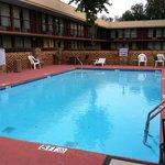 Pool they said was Hazardous & closed @ Days Inn Port Royal