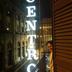 Centro Sign from our Balcony