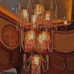 Beautiful chandelier inside ~