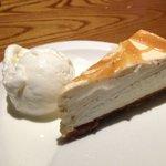 Irish Cream and Caramel Cheesecake