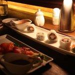 Sushi at Sunset Bar