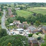 View from Wybunbury Tower