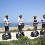 Wall & Garbutt family Segway experience