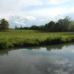 rivière en contre-bas