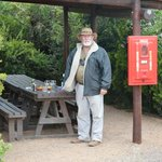 Connor als Guide im Addo Elephant Park