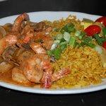Natchez shrimp, white wine and herb, mushrooms, chipotie butter