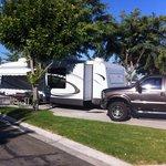 Anaheim Resort RV Park campsite