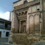 Templo hacia la plaza de la Iglesia