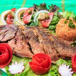Whole Fried Red Snapper - Yum!