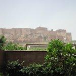 Blick zum Fort