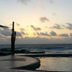 """Early morning view from """"our beach"""""""