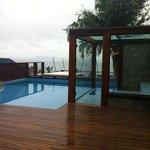 Segunda piscina e sauna