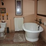 Part of the Lee Suite's amazing bathroom