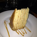 Peanut butter and salted caramel cake - Ahhmazing!!