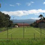 Tennis Courts at Langbrook Estate