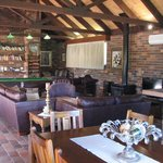 Langbrook Cottage: lounge and living area