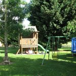 Outdoor childrens' play area