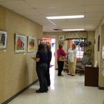Just another 2nd Tuesday artists reception.