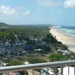 Stunning view looking towards Noosa