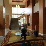 lobby of Hilton