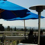Outdoor deck view - San Francisco in distance