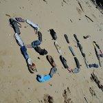 rubbish on the north beach