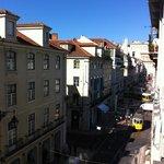 Blick aus dem Fenster Richtung Praça da Figueira