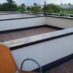 terrazze private delle Camere Comfort
