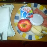 Complimentary fruit plate