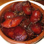 chorizo with sweet-sour figs