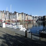 The harbour Honfleur, near the IBIS Hotel