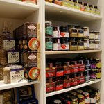 We have 22 kinds of oatcakes and many more chutneys.