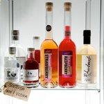 Scottish gin and vodka with Scottish strawberries, raspberries and rhubarb.