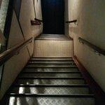 Steiles Treppenhaus