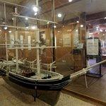 Modell eines Walfangschiffs