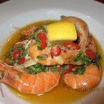 gambas (large prawns) at Doyle's