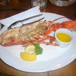 half lobster at Lord Baker