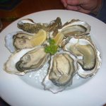 cromane bay oysters at Lord Baker