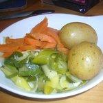 veggies at Lord Baker