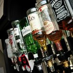 fully stocked bar at very reasonable prices!!