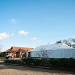 The large marquee for weddings and other events