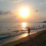 Sunset in Mati beach