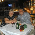my wife and myself at minos