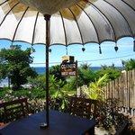 Restaurant Corner Warung, with a view !